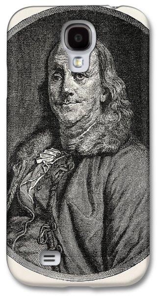 Benjamin Franklin, 1706-1790, Author, Politician, Scientist Galaxy S4 Case by English School