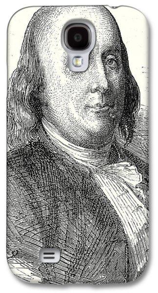 Benjamin Franklin Galaxy S4 Case by English School