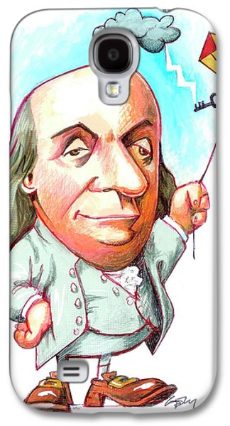 Benjamin Franklin Galaxy S4 Case by Gary Brown
