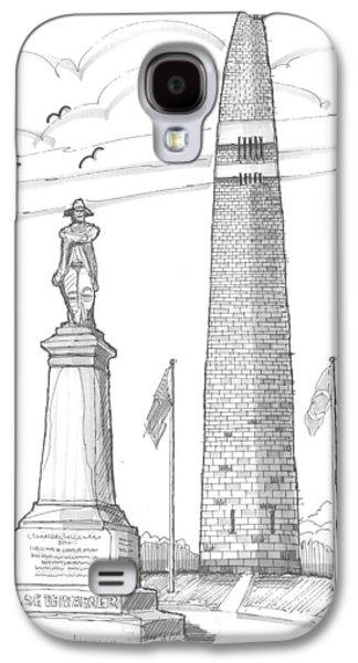 Bennington Battle Monuments Galaxy S4 Case