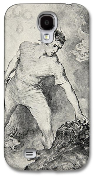 Beowulf Shears Off The Head Of Grendel Galaxy S4 Case by John Henry Frederick Bacon