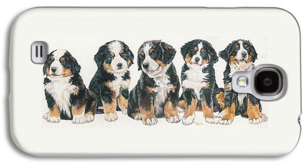 Bernese Mountain Dog Puppies Galaxy S4 Case