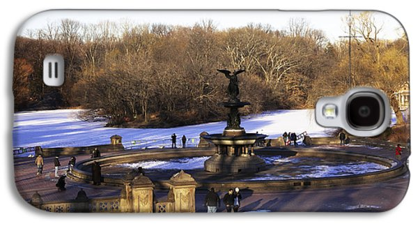 Bethesda Fountain 2013 - Central Park - Nyc Galaxy S4 Case by Madeline Ellis