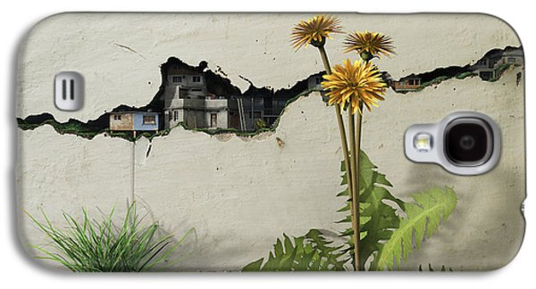 Between The Cracks Galaxy S4 Case by Cynthia Decker