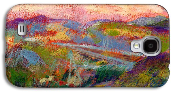 Mountain Sunset Galaxy S4 Case - Beyond The City by Athena Mantle Owen