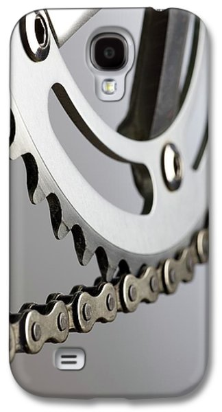 Bicycle Chain And Crank Galaxy S4 Case by Science Photo Library