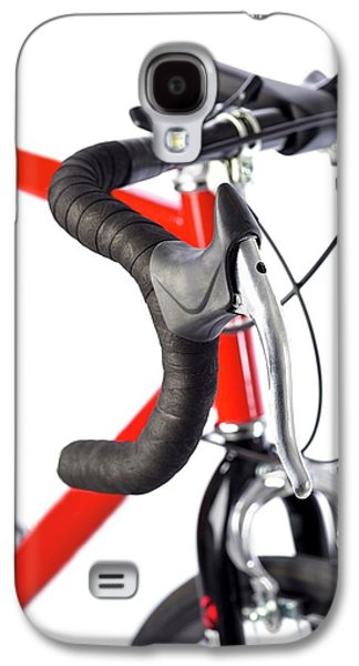 Bicycle Handlebars Galaxy S4 Case by Science Photo Library