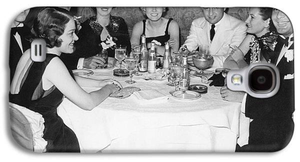 Big Band Dining In La Galaxy S4 Case