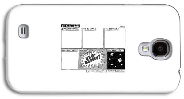 Big Bang Comix Galaxy S4 Case by Jack Ziegler