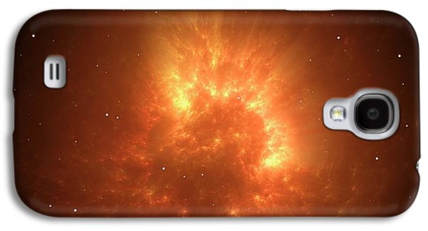 Big Bang Or Stellar Collapse Artwork Galaxy S4 Case