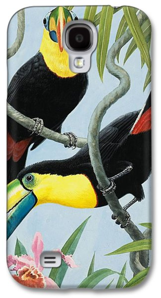 Big-beaked Birds Galaxy S4 Case