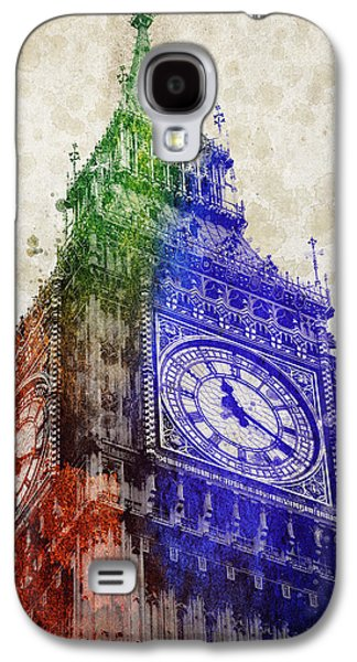 Big Ben London Galaxy S4 Case by Aged Pixel