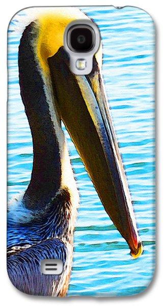 Big Bill - Pelican Art By Sharon Cummings Galaxy S4 Case