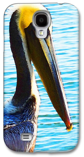 Big Bill - Pelican Art By Sharon Cummings Galaxy S4 Case by Sharon Cummings