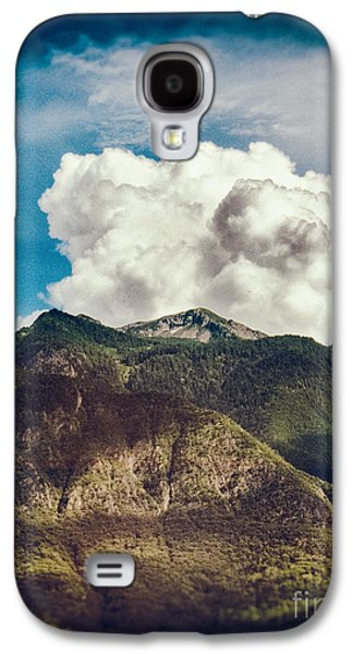 Big Clouds Over The Alps Galaxy S4 Case by Silvia Ganora