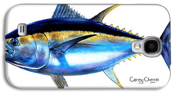 Big Eye Tuna Galaxy S4 Case by Carey Chen
