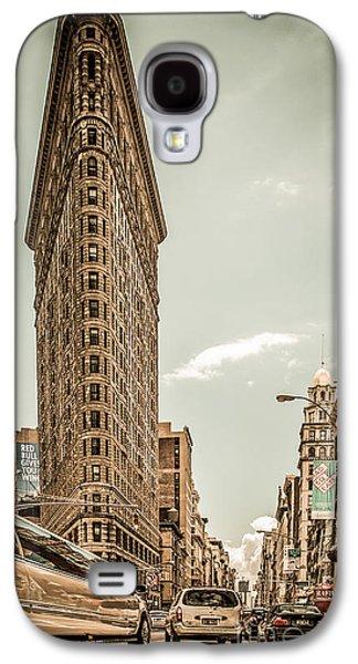 Big In The Big Apple Galaxy S4 Case by Hannes Cmarits