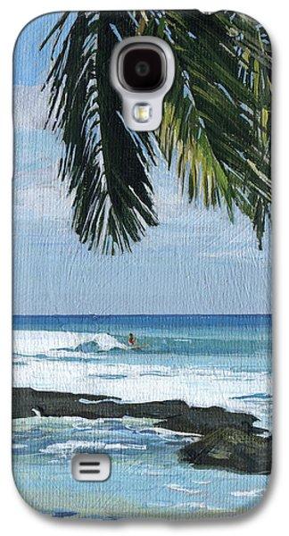Big Island Surfing Galaxy S4 Case by Stacy Vosberg