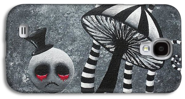 Big Juicy Tears Of Blood And Pain 6 Going 2 A Tea Party Galaxy S4 Case by Oddball Art Co by Lizzy Love