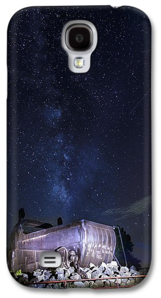 Big Muskie Bucket Milky Way And A Shooting Star Galaxy S4 Case