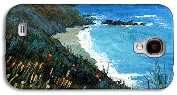 Big Sur Coastline Galaxy S4 Case by Alice Leggett