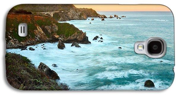 Big Sur Sunrise Galaxy S4 Case by Jamie Pham