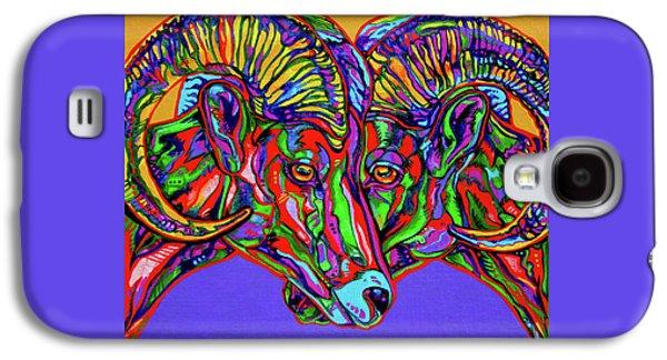 Bighorn Sheep Galaxy S4 Case by Derrick Higgins
