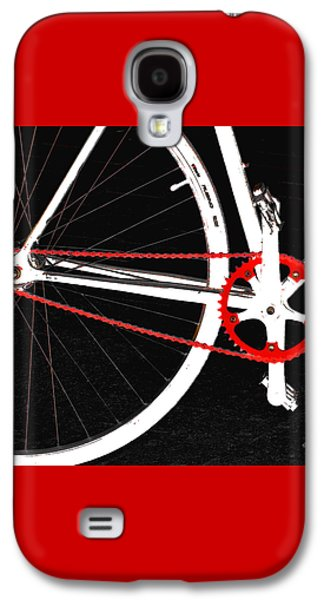 Bike In Black White And Red No 2 Galaxy S4 Case