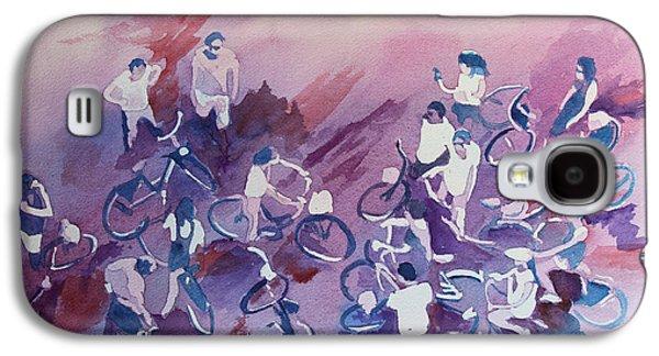Bicycle Galaxy S4 Case - Bike Tour by Jenny Armitage
