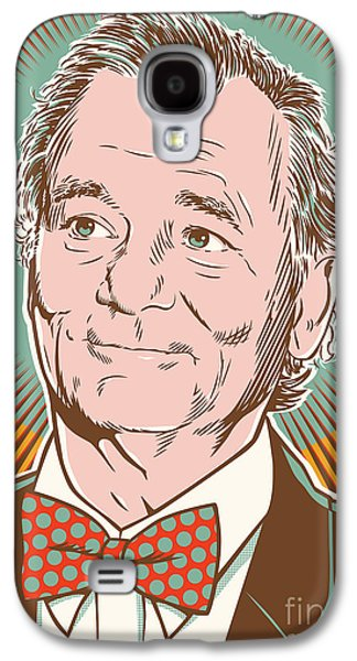 Bill Murray Pop Art Galaxy S4 Case by Jim Zahniser