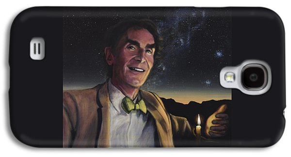 Bill Nye - A Candle In The Dark Galaxy S4 Case