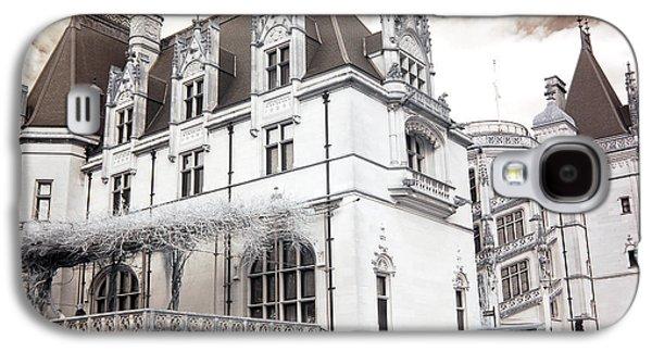 Biltmore Mansion Estate Asheville North Carolina - Surreal Biltmore Estate Mansion  Galaxy S4 Case
