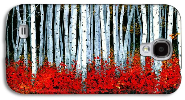 Birch 24 X 48  Galaxy S4 Case by Michael Swanson