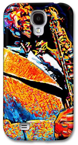 Bird Lives-charlie Parker Galaxy S4 Case by Vel Verrept
