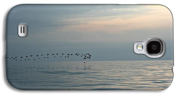Birds At Sunset In Sister Bay Galaxy S4 Case