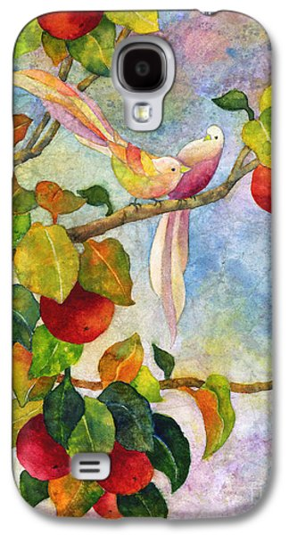 Birds On Apple Tree Galaxy S4 Case by Hailey E Herrera