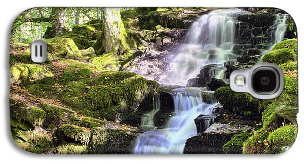 Birks Of Aberfeldy Cascading Waterfall - Scotland Galaxy S4 Case