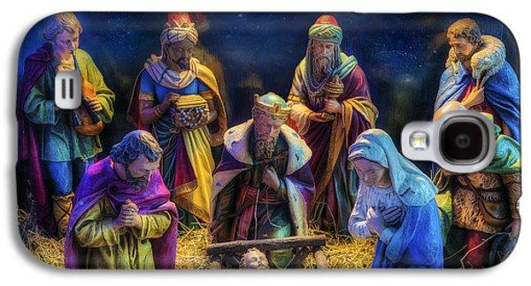 Birth Of Jesus Galaxy S4 Case by Ian Mitchell