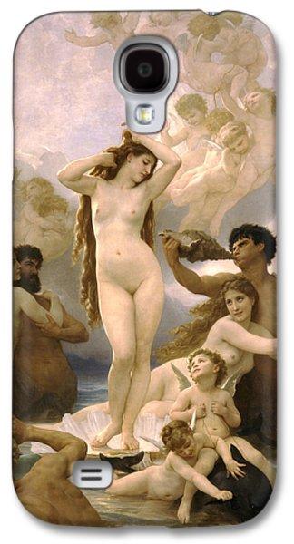 Birth Of Venus Galaxy S4 Case by William Bouguereau