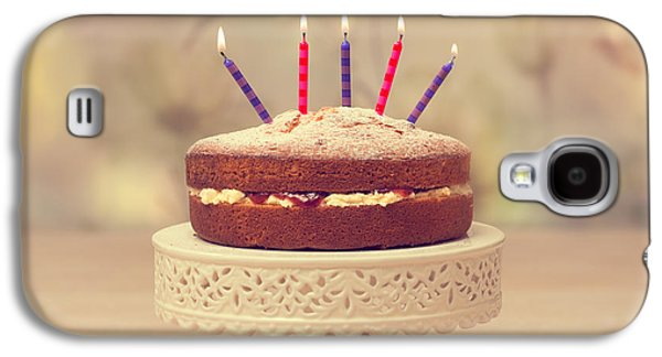 Birthday Cake Galaxy S4 Case by Amanda Elwell