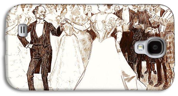 Birthday Dance 1899 Galaxy S4 Case