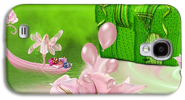 Birthday Fairy Goes To Work - Fantasy Art By Giada Rossi Galaxy S4 Case
