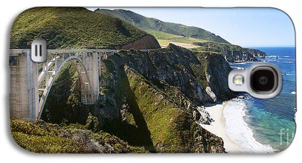 Bixby Bridge Near Big Sur On Highway One In California Galaxy S4 Case