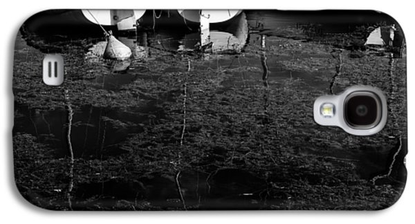 Black And White Boats Galaxy S4 Case by Pati Photography