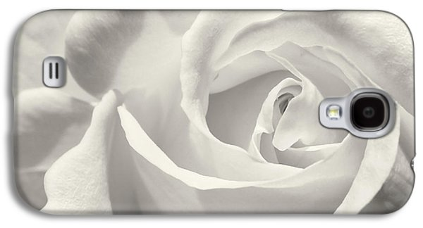 Black And White Curves Galaxy S4 Case by Sabrina L Ryan