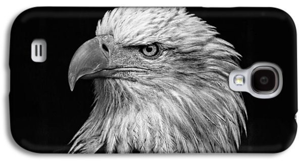 Black And White Eagle Galaxy S4 Case