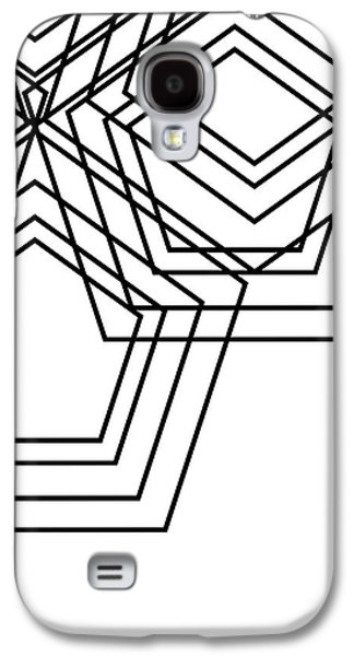 Black And White Geo Galaxy S4 Case