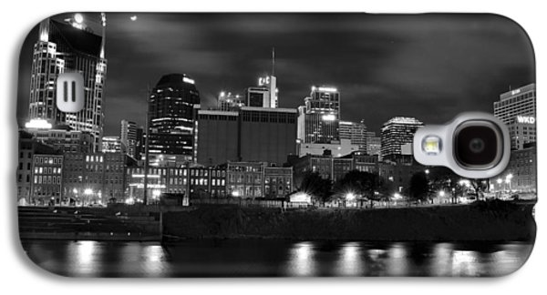 Black And White Night In Nashville Galaxy S4 Case