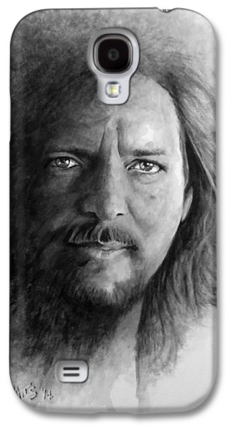 Black And White Vedder Galaxy S4 Case