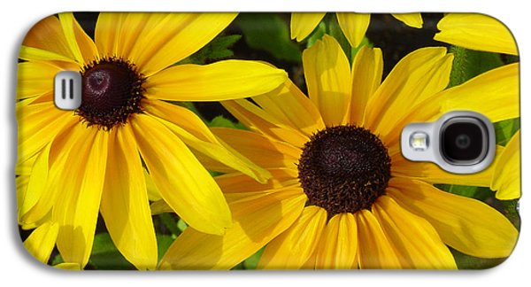 Black Eyed Susans Galaxy S4 Case by Suzanne Gaff
